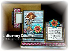J. ATTERBURY CREATIONS: Scripture Series: Thou Art Our Father Double Easel Card---Join Us for Another Inspirational/Anything Goes Challenge at Word Art Wednesday! ~ SC Wombat Love ~