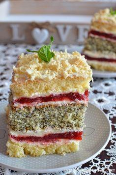 Polish Desserts, Polish Recipes, Sweets Cake, Cupcake Cakes, Base Foods, Cakes And More, Yummy Cakes, No Bake Cake, Cake Recipes