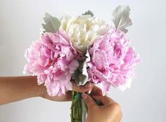 Make a DIY Peony Bouquet | Wholesale Wedding Flowers Blog | BloomsByTheBox.com