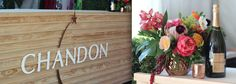 Custom Bar for Chandon | Austin Event Rentals | Corporate Event | VIP Party | Wild Sky Events | STEMS Floral Design + Productions