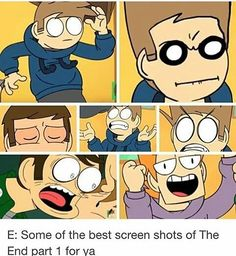 7 reasons to never pause Eddsworld, even though you get real funny screencaps. Eddsworld Comics, Funny Comics, Eddsworld Memes, Funny Memes, Fandoms, Animation Series, South Park, Webtoon, The Funny