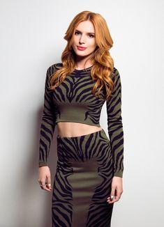 Bella Thorne - Photoshoot at SiriusXM Studios in New York - October 2014