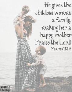 Psalms 113:9 facebook.com/donttakethemark