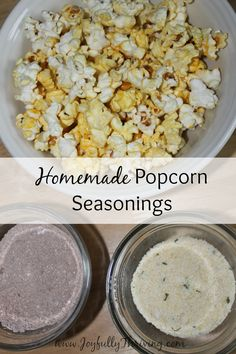Homemade Popcorn Seasonings - Here's a simple recipe for parmesan garlic seasoning as well as mexican hot chocolate. Both are delicious and perfect for popcorn! #Ad #Makeitamovienight