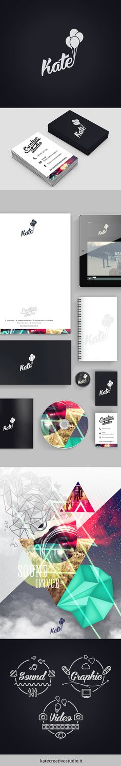 Kate Creative Studio by giorgia negro, via Behance #branding #logo
