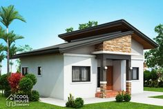 Dreaming to own a 3 bedroom bungalow House? The answer is here, the floor plan consists of 3 bedrooms and the basic parts of a complete house having 73 sq. House Layout Plans, Small House Plans, House Layouts, 3 Bedroom Bungalow, Modern Bungalow House, Bungalow Floor Plans, Home Design Floor Plans, Three Bedroom House Plan, House Construction Plan