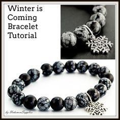 This listing is for our instructions for this versatile bracelet! It is an easy pattern that can be used with many different beads and charms! You will receive 2 printed pages of color photos and detailed instructions, including how to make a secure knot and make it look attractive!  Find the matching kit here in our Etsy Shop: https://www.etsy.com/listing/272969656/sale-winter-is-coming-stretch-bracelet  Printed Price $6 PDF Price $1