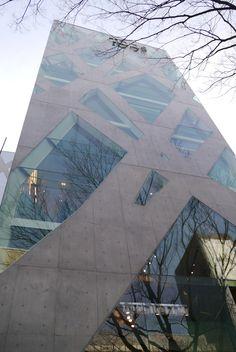 Tod's Omotesando Building in Tokyo by Toyo Ito