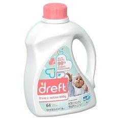 Dreft Stage 2: Active Baby HEC Liquid Laundry Detergent 100 oz $16.49 Target