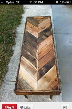 Pallet wood table                                                                                                                                                                                 More