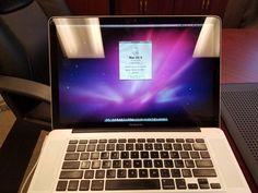 """Apple MacBook Pro A1286 15.4"""" Laptop - MB470LL/A (October 2008)"""