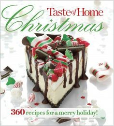 """Taste of Home Christmas - Spice up your holidays with favorite recipes from families like yours across the country, each perfected by the Taste of Home test kitchens. Look inside Taste of Home® Christmas to find:• 360 festive recipes for party and brunch fare, buffet dishes, entrees, sides, cookies, desserts, candy, easy edible gifts, and more• """"Make Ahead"""" and """"Fast Fix"""" icons throughout to help you enjoy the holidays with your friends and family, not alon…"""