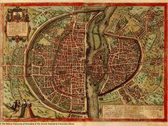 10 1572 braun hogenberg1 680x511 Lhistoire de Paris par ses plans  information histoire featured carte information