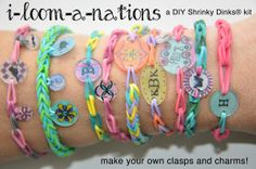 Shrinky Dink Jewelry Patterns | ... kits, rubber band jewelry, loom, shrinky dinks, custom charms clasps