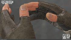 Homefront: The Revolution - Player Hands, Patrick Anderson on ArtStation at https://www.artstation.com/artwork/0dZJV