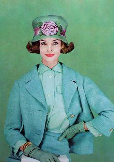 Suit by Uli Richter. Photo Helmut Newton 1959