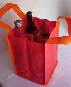 Porta botellas, $45 en http://ofeliafeliz.com.ar