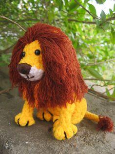 Amigurumi Lion Crochet pattern PDF - Lancey pattern by Anupama Pradeep Crochet Lion, Crochet Animals, Free Crochet, Kids Crochet, Crochet Ideas, Crochet Toys Patterns, Stuffed Toys Patterns, Crochet Dolls, Diy Plush Toys