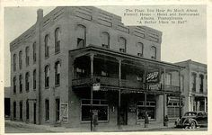 Athens, PA Forrest House Hotel Restauran Athens History, History Photos, Worlds Largest, Sweet Home, Live, Places, House, Vintage, Historical Pictures