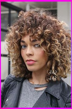 Enjoy this cute and stylish look with helpof this hairstyle. #hairstyles #haircuts #hairstylesforshorthairs #shortcurlyhairstyles #naturalcurlyhairstyles #curlhairs #americanhairstyles #curlybraidedhairs #curlyhairstylesforwomen #hairtrendsforshorthairs #fashion #haircolorsforbrunettes #longtoshorthair #christmashairstyle #hairtrends #longhairstylesforcurlyhairs #besthairstylesforwomen #hairfashion #beautytips #haircolors #latestfashion #newhairstyles Lob Curly Hair, Curly Hair Styles, Short Hair Styles For Round Faces, Hair A, Hair Type, Short Hair Cuts, Cute Short Haircuts, Round Face Haircuts, Hairstyles For Round Faces