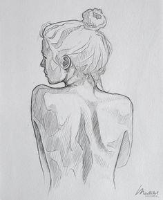 Bocetos de tatuajes únicos y creativos My Sketchbook Set I Drawing Woman I Woman nude . - Bocetos de tatuajes únicos y creativos My Sketchbook Set I Drawing Woman I Woman nude Back I Drawin - Pencil Art Drawings, Art Drawings Sketches, Tattoo Sketches, Pencil Sketch Art, Body Sketches, Back Drawing, Contour Drawing, Arte Sketchbook, Sketchbook Ideas