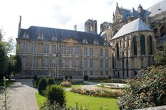 The Palace of Tau in Reims, France, was the palace of the Archbishop of Reims. The building was built in the Gothic style between 1498 & 1509, & modified to its present Baroque appearance between 1671 & 1710. The Palace was the residence of the kings of France before their coronation in Notre-Dame de Reims. The king was dressed for the coronation at the palace before proceeding to the cathedral; afterwards, a banquet was held at the palace.