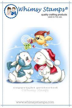 *NEW Christmas Bunny Kisses