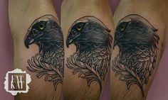 FAT KAT  #tattoo #coverup #covertattoo #fatkatstudio #ink #dotwork #hawk #hawktattoo #tatuaż #fatkat