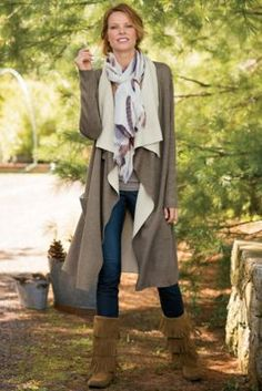 Annecy Cardigan from Soft Surroundings