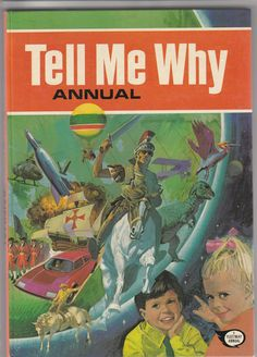 1978 Tell Me Why annual. For boys but also by BooksbyRetrofanattic