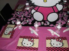 Hello Kitty's Spa Party by Utopia Decor | CatchMyParty.com