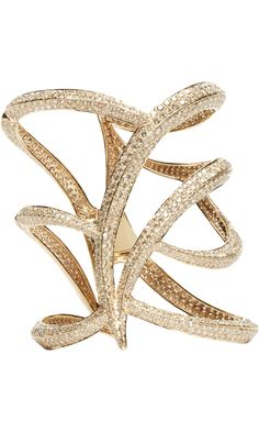 "Maiyet Champagne Diamond Owl Cuff . . . stunning . . . but ""just a little"" out of my budget . . ."