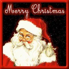 Święty Mikołaj rozdaje prezenty