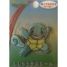 Pokemon Center 2014 Squirtle Embroidered Sticker