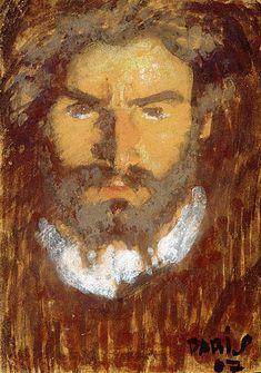 Pfister, Albert Männerporträt, 1907 SIKART Painting, Art, Switzerland, Mural Painting, Still Life, Drawing S, Kunst, Art Background, Painting Art