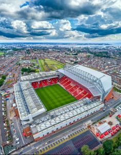 One of the greatest sporting events on the planet is soccer, generally known as football in many countries around the world. Liverpool Fc Stadium, Anfield Liverpool, Liverpool Players, Soccer Stadium, Liverpool Fans, Liverpool Football Club, Football Stadiums, Liverpool Tattoo, Football Fans