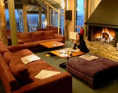 Ski lodge  -- I could definitely spend a couple nights in something like this! #CdnGetaway