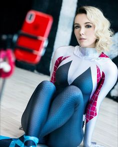 sexy spidergirl is so hot 🔥 Epic Cosplay, Cute Cosplay, Amazing Cosplay, Cosplay Outfits, Cosplay Girls, Sexy Outfits, Anime Cosplay, Cosplay Costumes, Spiderman Cosplay