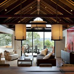 William Hefner Architecture Interiors & Landscape - modern - living room - los angeles - Studio William Hefner