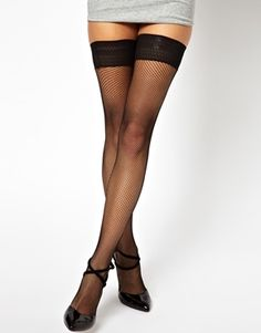American Apparel Fish Net Hold Up Tights Find American Apparel Lingerie and more via www.americasmall.com/categories/lingerie-underwear.html