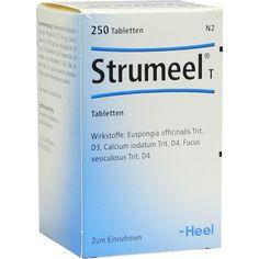 STRUMEEL T Tabletten:   Packungsinhalt: 250 St Tabletten PZN: 08412297 Hersteller: Biologische Heilmittel Heel GmbH Preis: 20,97 EUR…