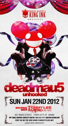 The first and second batch of tickets to the Sundance Film Festival 2012 Deadmau5 concert sold out in 5 minutes! http://ticketcake.com/event/deadmau5/park-city/2012-01-22 #Sundance #EDM #Deadmau5