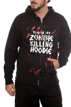 Amazon.com: Goodie Two Sleeves Zombie Killing Zip Hoodie: Clothing $55 after shipping.