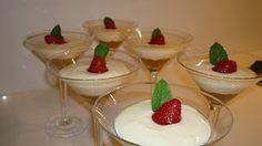 Strawberry Cheese Cake Martini