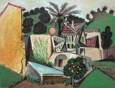 Pablo Picasso - La villa au palmier, 1951.