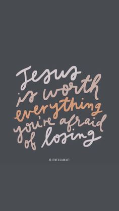 Jesus is worth it – Nice Words Beautiful Bible Verses Quotes, Jesus Quotes, Faith Quotes, Holy Quotes, Bible Scriptures, Cool Words, Wise Words, Bible Verse Wallpaper, Journaling