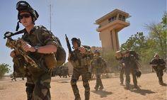 French legionnaires in Mali