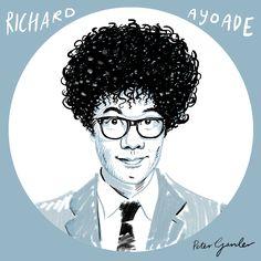 Richard Ayoade, or 'Gadget Man'