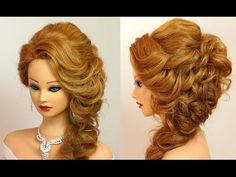 hairstyle for prom/party. Medium long hair tutorial Curly hairstyle for prom/party. Medium long hair tutorial - -Curly hairstyle for prom/party. Party Hairstyles For Long Hair, Virtual Hairstyles, Easy Hairstyles For Medium Hair, Medium Long Hair, Hairstyles With Bangs, Medium Hair Styles, Curly Hair Styles, Cool Hairstyles, Teenage Hairstyles