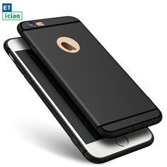 Super Soft TPU Matte Case For iPhone 6 6s 7 plus Luxury Slim Back Protect Cover For iPhone 6 6s 7 plus Black
